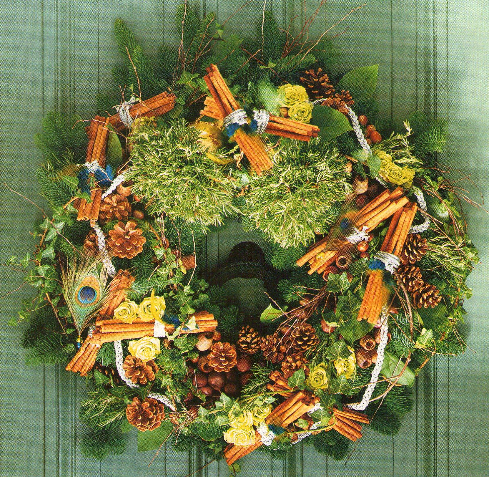Arreglos florales arreglos navide os la casita el valor interior - Arreglos navidenos para la casa ...